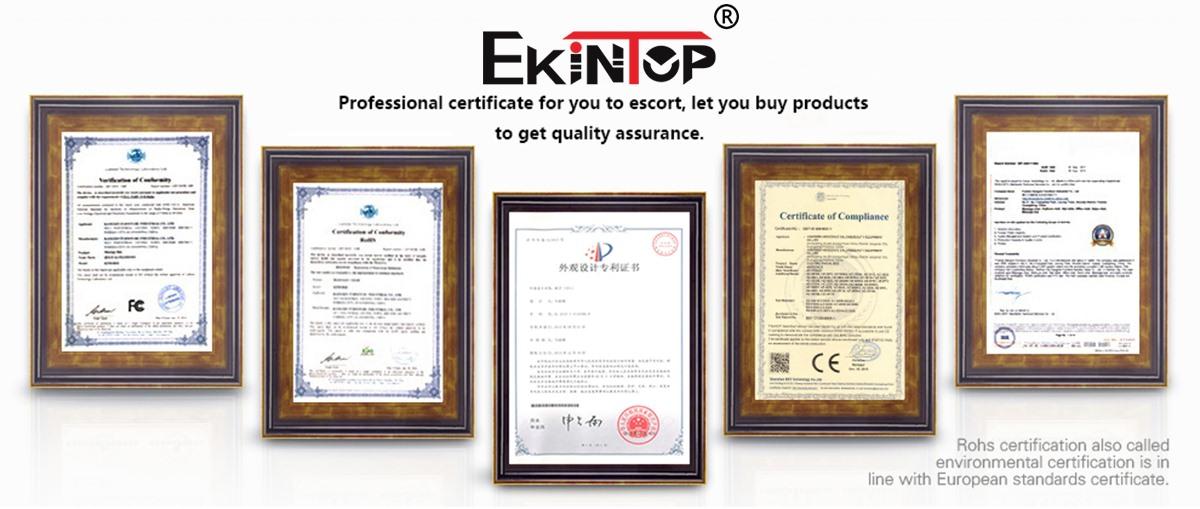 Office furniture certificate