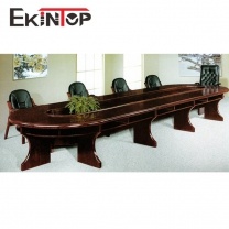 Round conference table by office furniture manufacturer in Ekintop