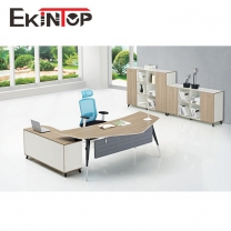 Round office table by office furniture manufacturer in Ekintop