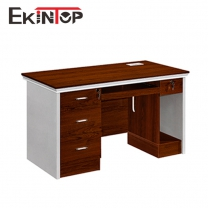 Narrow office table by office furniture manufacturer in Ekintop
