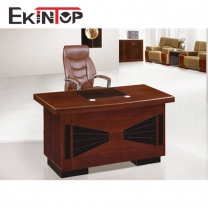 MDF wooden paper top office table