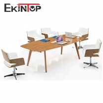 Wood office meeting table by office furniture manufacturer in Ekintop