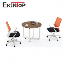White office desk and chair by office furniture manufacturer in Ekintop