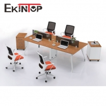 High quality l shape office workstation