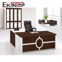 Office black desk by office furniture manufacturer in Ekintop