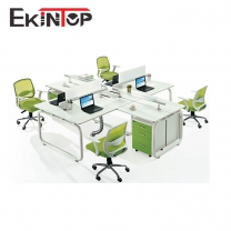 Office furniture fashion desgin 4 person office workstation