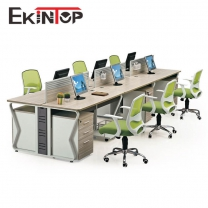 High quality reasonable price office furniture 6 person workstation