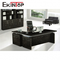 Leather office furniture by office furniture manufacturer in Ekintop