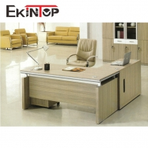 Home office desk with file drawer by office furniture manufacturer in Ekintop
