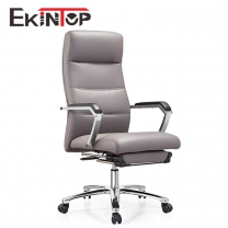 Special design leather lift chair with leg rest