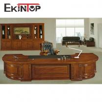 Custom office desk by office furniture manufacturer in Ekintop