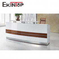 Office reception desk by office furniture manufacturer in Ekintop
