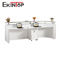 Reception counter manufacturers in office furniture from Ekintop
