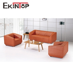 Wholesale leather office sofa by office furniture manufacturer in Ekintop