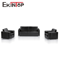 Leather sofa furniture by office furniture manufacturer in Ekintop