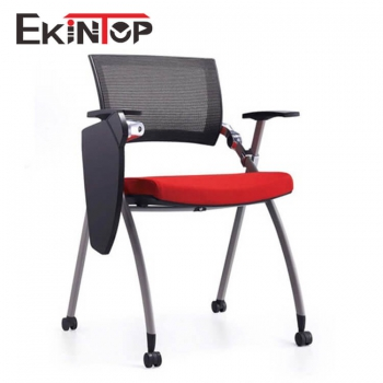 Modern stainless steel office ergonomic stackable plastic folding table chair