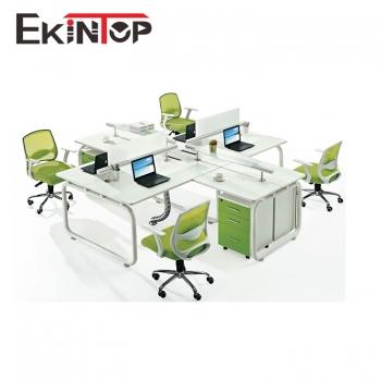 Office furniture fashion desgin 4 person office workstation