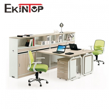 Hot sale in USA modern design office workstation for 2 person