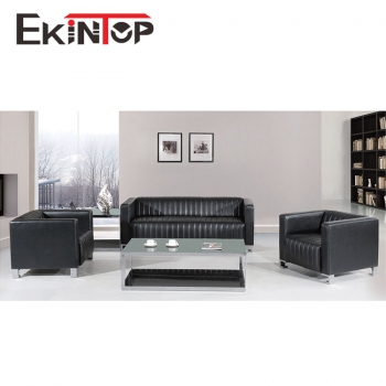 Royal leather sofa set by office furniture manufacturer in Ekintop