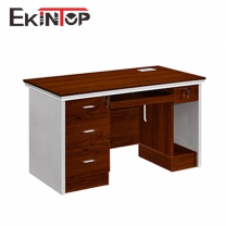 Office table with drawers by China manufacturer