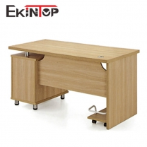 Inexpensive computer desk by MDF, China manufacturer