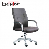 Stationary swivel desk chair by China office manufactory