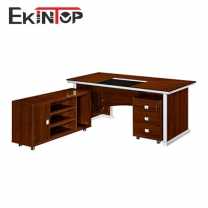 Office desk with storage by office furniture manufacturer