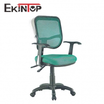 Teal swivel desk chair by China office manufactory