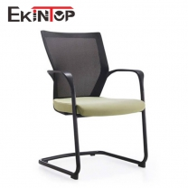 Small white office chair by China office manufactory