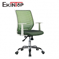 Stationary desk chair with arms by China office manufactory