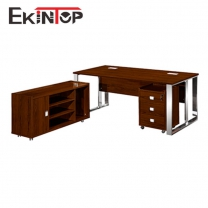 Office desk with filing cabinet by China office manufacturer