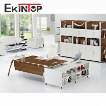 L-shaped office desk manufacturers in office furniture from Ekintop