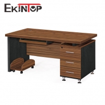 Small office desk with drawers by China office furniture manufacturer