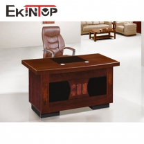 MDF wooden paper top simple office table