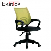 Swivel office chairs with wheels by China office manufactory