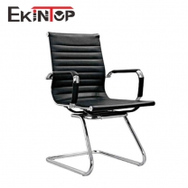 Swivel office chair no wheels by China office manufactory