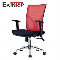 Swivel desk chair with arms by China office manufactory