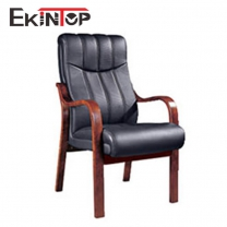 Leather desk chair no wheels manufactures in office furniture from Ekintop