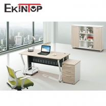 Simple office desk by MDF, China manufacturer