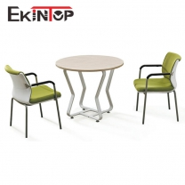 MDF office table for coffee room by China factory