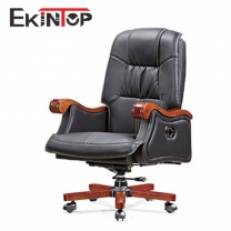 Rolling office chair with arms by China office furniture manufacturer