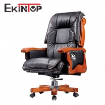 Leather rolling office chair manufactures in office furniture from Ekintop