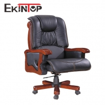Rolling desk chair with arms by China office furniture manufacturer