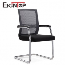 Black office desk chair by China office furniture manufacturers