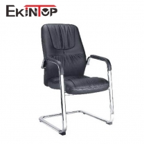 Computer desk chair without wheels by China office manufacturers