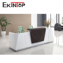 Reception desk furniture by office furniture manufacturer in Ekintop