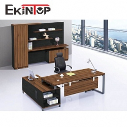 L shape desk for professional office