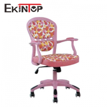 Pink office chair by China office furniture manufacturer