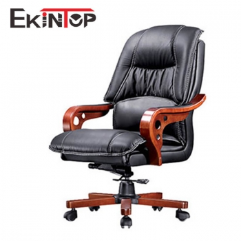Leather Spinning Chair By China Office Manufacturers