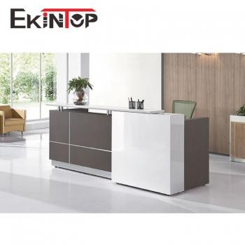 Modern reception desk manufacturers in office furniture from Ekintop